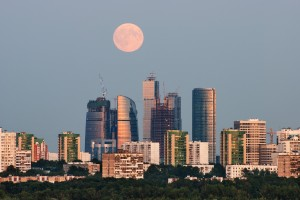 Moscow City -